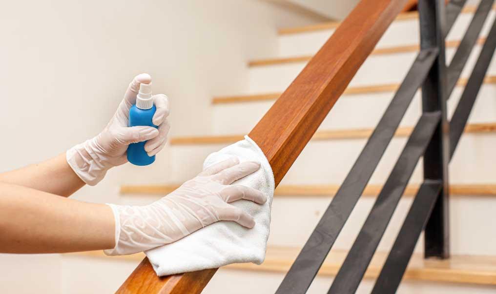 Eficacia de Alcohol al 70% en la desinfección de superficies sin limpieza previa